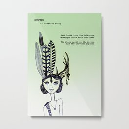 ISSUE 3 of Petite Hound Press: William Doreski & Letisia Cruz Metal Print