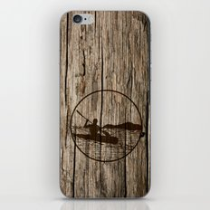 kayaking iPhone & iPod Skin