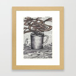 Waves of Roasted Goodness Framed Art Print