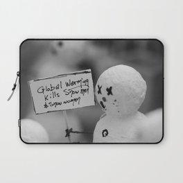 Global Warming Laptop Sleeve