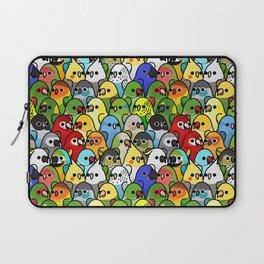 Too Many Birds!™ Bird Squad Classic Laptop Sleeve