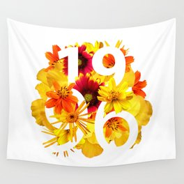 Flower 1996 Wall Tapestry