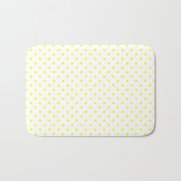 Dots (Yellow/White) Bath Mat