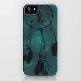 Dreamcatcher (teal) iPhone Case
