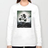 halo Long Sleeve T-shirts featuring Halo Kid by Andy Fairhurst Art