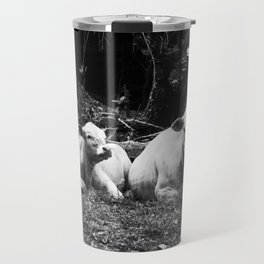 cows in virginia (by the creek, near our house) Travel Mug