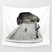 florida Wall Tapestries featuring Florida Man by Richard Vergez