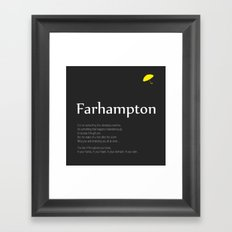 Farhampton Framed Art Print