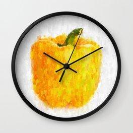 Big Yellow Pepper Wall Clock
