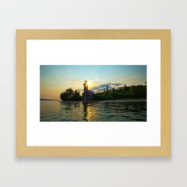 Almost time for the Light Framed Art Print