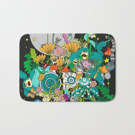 Imaginary Land Bath Mat