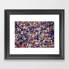 People of Berlin Framed Art Print