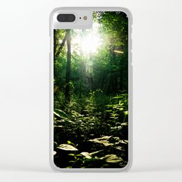 The Path through the Forest Clear iPhone Case