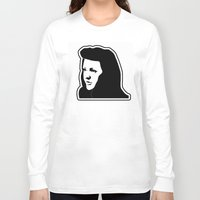 ellie goulding Long Sleeve T-shirts featuring Ellie Goulding Stencil by NicoStuart