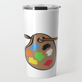 "Show Your Love Of Art Or Crafting With This Shirt ""I Arted"" T-shirt Design For All Artist Craftman Travel Mug"