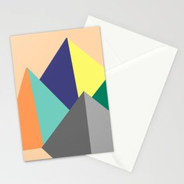 Paku Paku, original colours on peach Stationery Cards