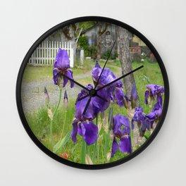 Purdy in Purple... Wall Clock