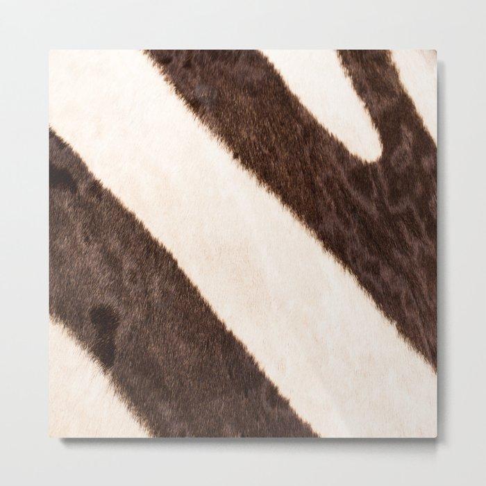 Zebra - stripes - #society6 #buyart #decor Metal Print