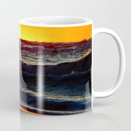 Sea and Sand of Orange Coffee Mug