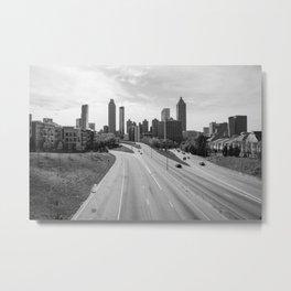 Atlanta Metal Print