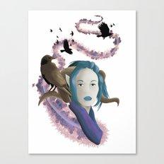 Crow Call Canvas Print