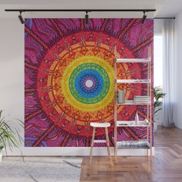 Eye of the Chakra Storm Wall Mural