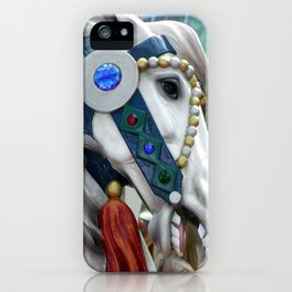 Carousel horse 01 iPhone Case