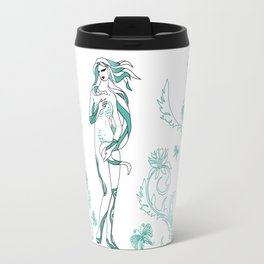 Virgo / 12 Signs of the Zodiac Travel Mug