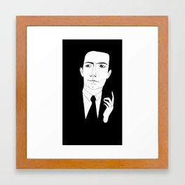 Agent Cooper (again) Framed Art Print
