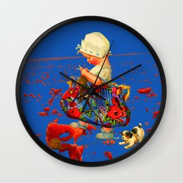 THE LITTLE LADY IV Wall Clock