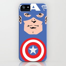 Captain A iPhone Case