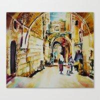 israel Canvas Prints featuring Israel 2 by CarolBoerckel