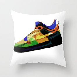 Air Force Ones (4 of 4) Throw Pillow