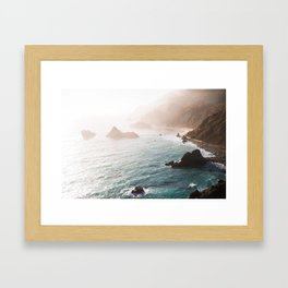 Oceans Blue Framed Art Print