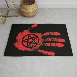 Red Right Hand Rug