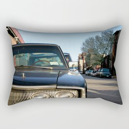 New York car Rectangular Pillow