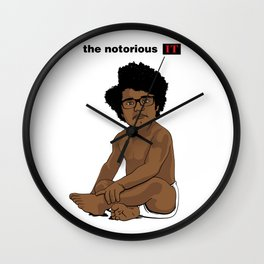 The Notorious I.T. Wall Clock