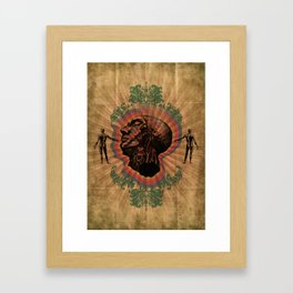 What Color is Your Conscience? Framed Art Print