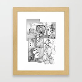 Good Morning Dr Pussycat Framed Art Print
