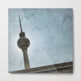 Berlin Television Tower Metal Print