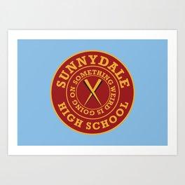 Sunnydale Art Print
