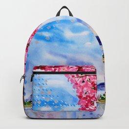 Cherry blossom tree Backpack