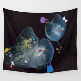 Bargain Shoppers Wall Tapestry