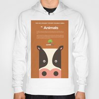 cows Hoodies featuring Save Cows by Earth Day