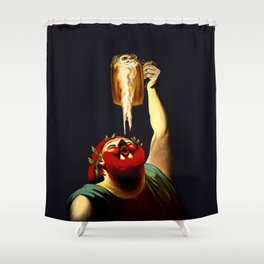 Inspired French Vintage Poster  Shower Curtain