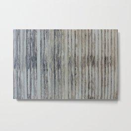 rotten wood texture Metal Print
