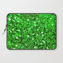 Green Bling Laptop Sleeve