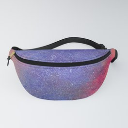 galaxy with a cat Fanny Pack