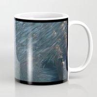 school Mugs featuring School DPG150527a  by Cyndi Steen
