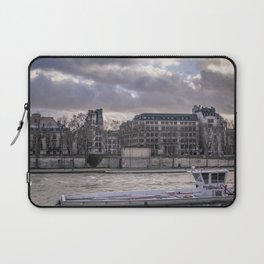 Seine wharf, Paris, France Laptop Sleeve